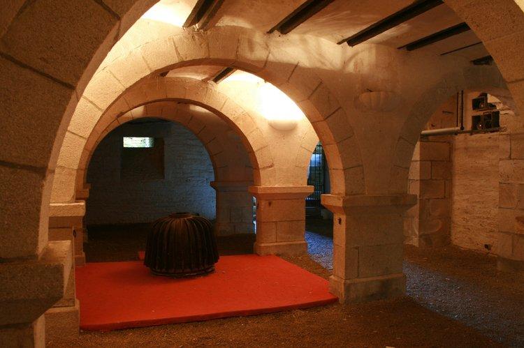 photographie de la crypte