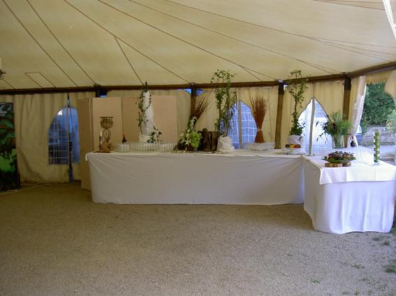 Photographie de la tente