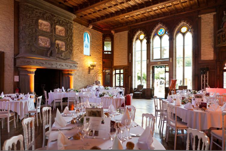 vos receptions 171 chateau de keriolet visite historique mus 233 e salle de r 233 ception mariage