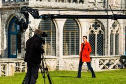 Les coulisses du tournage de l'émission Des racines & des ailes