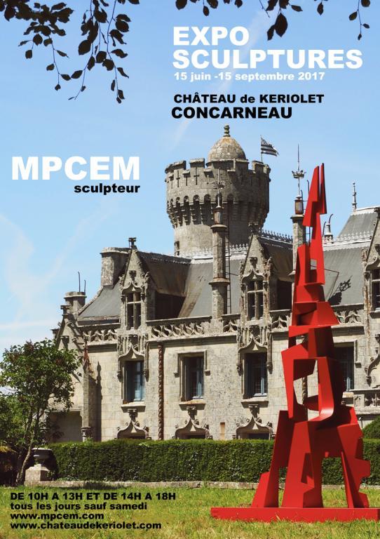 mpcem,72 dpi, affiche expo chateau de keriolet
